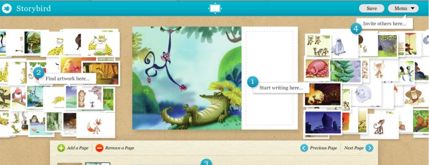 storybird screen